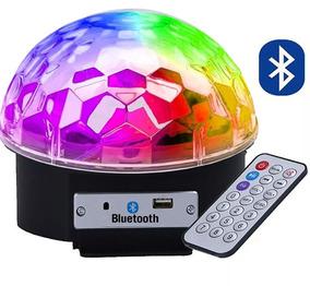 Kit 5un Caixa De Som Bola Maluca Bluetooth Globo De Luz Led