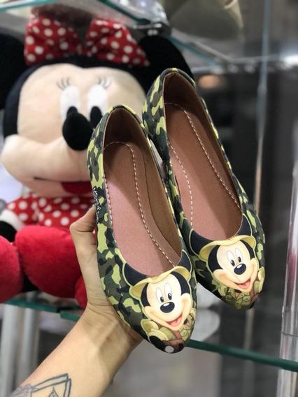 Sapatilha Do Mickey E Da Minnie