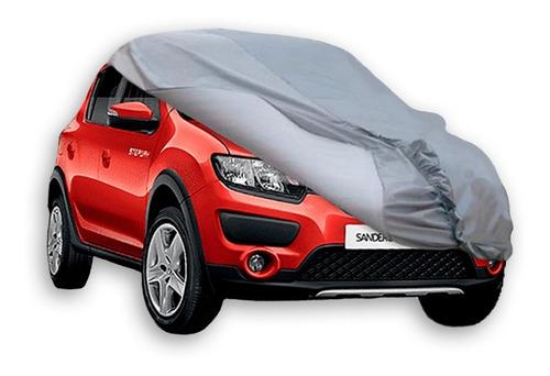Imagen 1 de 7 de Funda Cubre Auto Antigranizo Sujecion Renault Sandero Cuotas