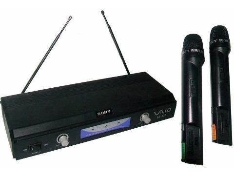 Micrófono Inalambrico Profesional Sony