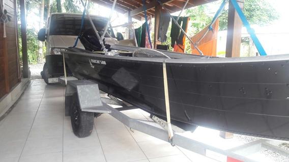 Barco Macar 5metros 8hp Mercury 4 Tempos