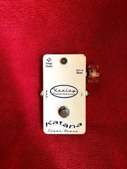 Pedal Katana Clean Boost + Brinde