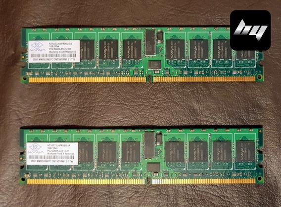 Memoria Ram Ddr2 1gb Pc2-3200 Ecc Registered Para Servidores