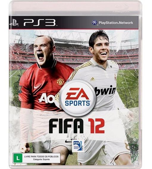 Jogo Lacrado Fifa Soccer 12 Para Playstation 3 Ps3