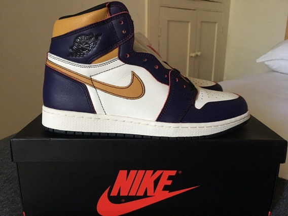 Tenis Nike Air Jordan 1 La To Chicago 10us/42br