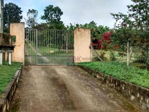 Imagem 1 de 30 de Chácara Com 3 Dormitórios À Venda, 4500 M² Por R$ 530.000,00 - Biritiba Ussu - Mogi Das Cruzes/sp - Ch0302