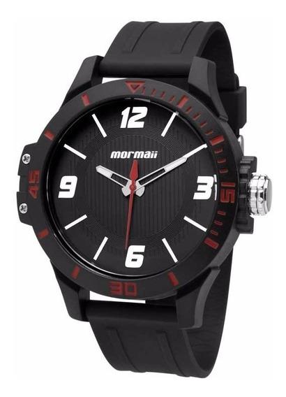 Relógio Mormaii Masculino Wave Mo2035fl/8r Vermelho Oferta