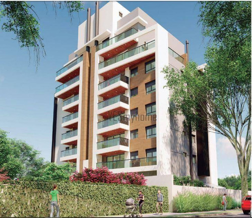 Apartamento Garden Com 2 Quartos À Venda, 68 M² Por R$ 696.722 - Santa Quitéria - Curitiba/pr - Gd0243