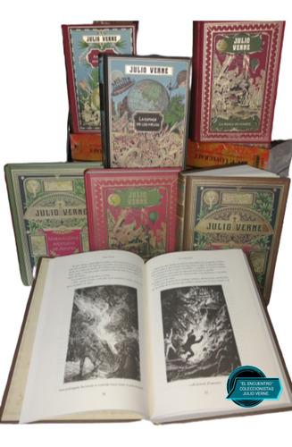 Imagen 1 de 4 de Julio Verne/ Colección Hetzel/ Varios Títulos/ Lista Abajo.