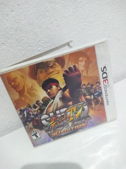 Box Super Street Fighter Iv 3ds Usado