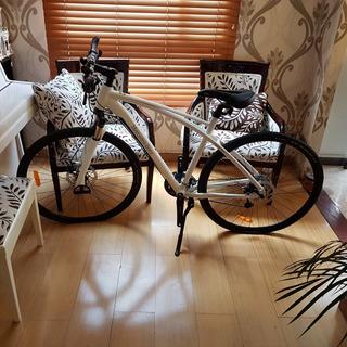 Bicicleta Mercedes Benz Fitness Talla L Blanca