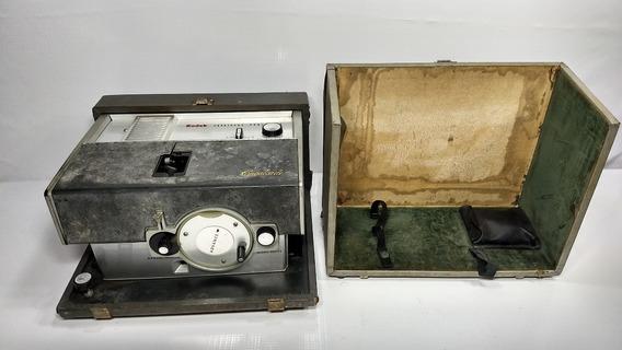 Antigo Projetor Kodak Cavalcade Filmes Películas Raro
