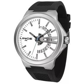 Relógio Lince Masculino Mrp4577s B1px Casual Prateado
