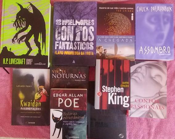 10 Livros Contos Lovecraft Alan Stephen King Quatro Estações