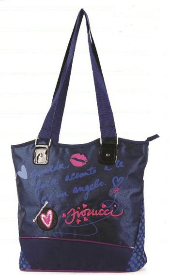 Bolsa Feminina Juvenil - Fiorucci - Be60022fc Azul