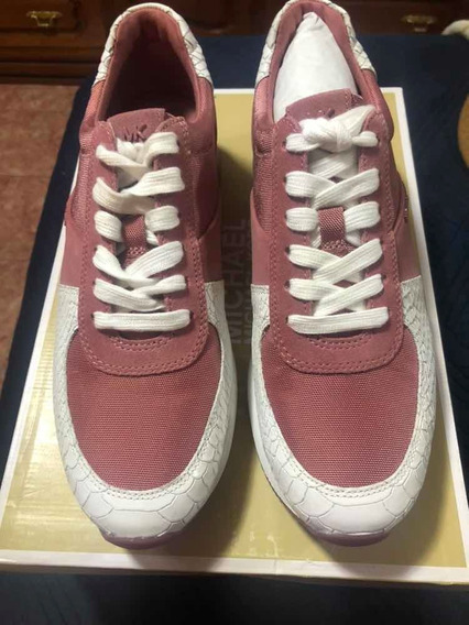 Michael Kors, Tenis Color Rosa 5.5 Mexicano