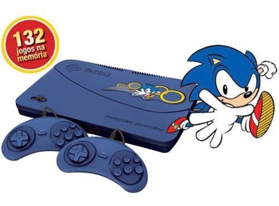 Master System Com 132 Jogos Na Memória..