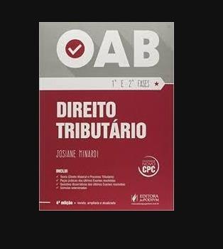 Direito Tributário Oab 1ª E 2ª Fases