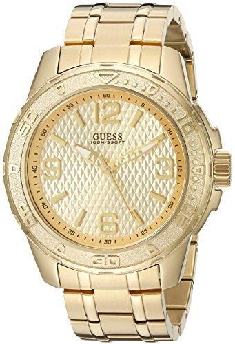 Reloj Casual Con Pulsera De Acero Inoxidable De Guess, Color