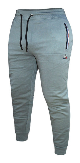Pantalon Largo Le Coq Sportif Ess Tp Moda Original Gris