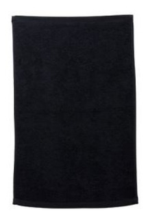 Toalla Negra Algodon, Estetica, Spa Y Barberia 40*60