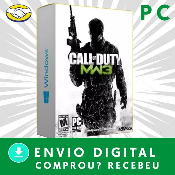 Call Of Duty Modern Warfare 3 Pc Digital +3 Jogos Brindes