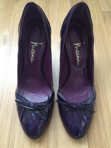 Zapatos De Charol Nro 38
