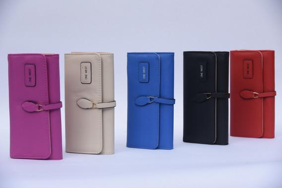 Billetera De Mujer Variedad De Colores Importada /606