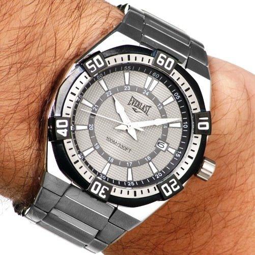 Relógio Everlast Masculino Original Analógico Esportivo Novo