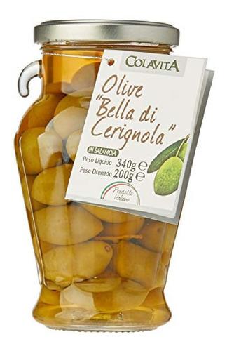 Imagem 1 de 1 de Azeitona Bella Di Cerignola Colavita 340g