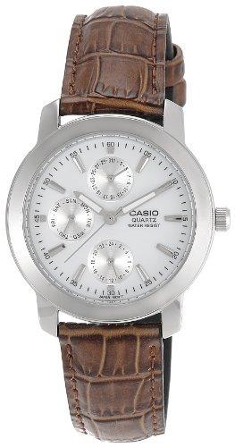 Relojes De Pulsera,reloj Casio Mtp1192e-7a Marrón