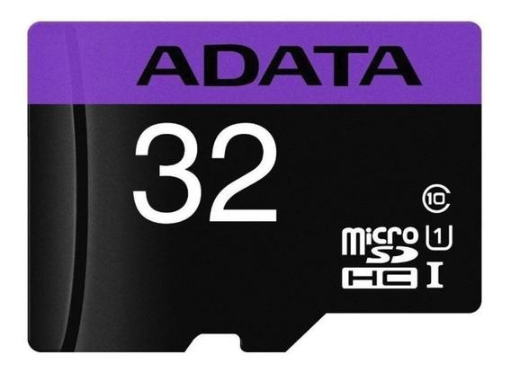 Memória Adata 100% Original Micro Sdhc 32gb Uhs-i Classe 10
