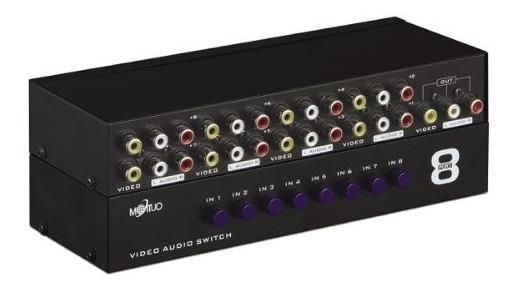 Mt-831av Switch Video Audio Rca 8entradas 1 Salida Nuevo Maa