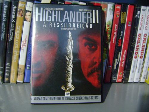 Dvd Highlander 2 A Ressurreiçao Christopher Lambert