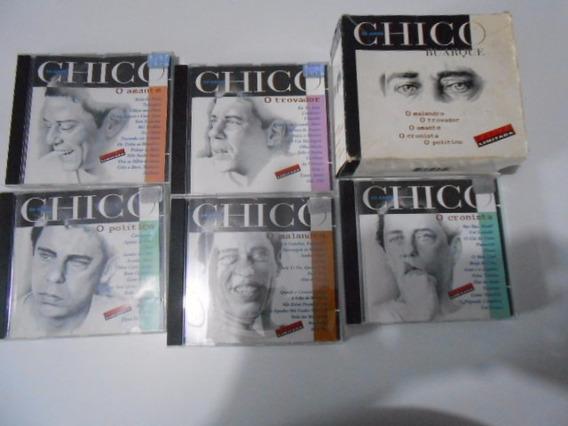Cd Box Chico Buarque 50 Anos Com 5 Cds. Edição Limitada