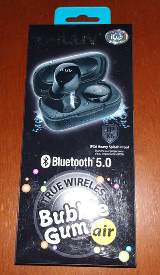 Fone De Ouvido Iluv Bubble Gum Air Bluetooth Earphones