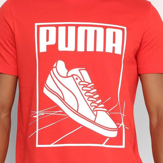 Camisa Camiseta Puma Track Tee Várias Cores - Promoção 2018