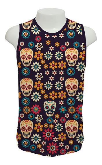 Camiseta Caveira Mexicana - Ml02 - Regata