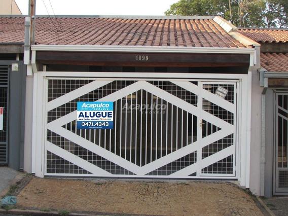 Casa Para Aluguel, 3 Quartos, 2 Vagas, Cidade Jardim I - Americana/sp - 3144