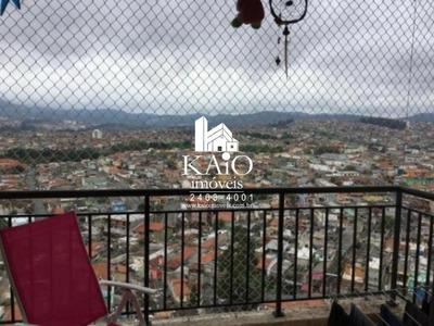 Apartamento No Flex De 64m² Com 2 Dormitórios 1 Suite, Vila Galvão - Ap1140