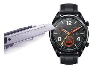 2 X Películas De Vidro Temperado Protetora Para Relógio Huawei Watch Gt / Watch Gt Active