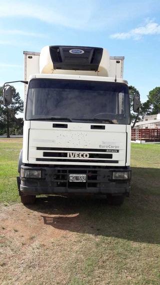 Iveco 170 E22, 2.013 Furgón Termico Eq De Frio Carrier