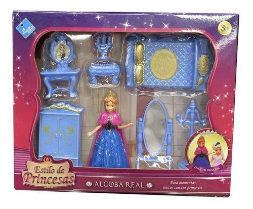 Set Princesas Alcoba Real El Duende Azul Art 7210 Loonytoys