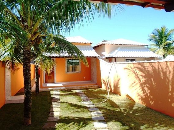 Casa 2 Qtos Financiada P/ Caixa 400m Praia Jaconé :saquarema