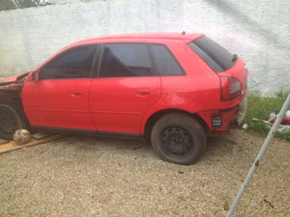 Audi A3 Batido Para Conserto Ou Retirada De Peças
