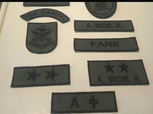 Imagen 1 de 3 de Parchos Militares, Patriota O Del Tiuna, Según Nueva Direc.