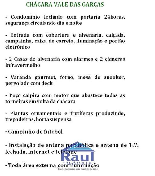 Venda Chácara - Vale Das Garças, Campinas-sp - 2406-1