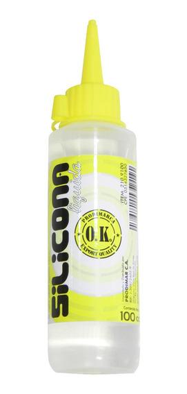 Silicona Liquida De 100cc Por Caja