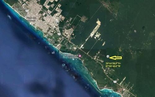 Venta De Terreno En Playa Del Carmen 53.8 Hectareas