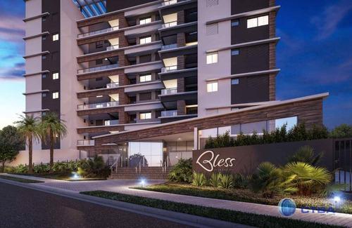Apartamento Com 3 Quartos À Venda, 109 M² Por R$ 908.000 - Cabral - Curitiba/pr - Ap0296